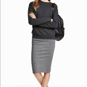 641363abc633 H&M Skirts | Grey Pencil Skirt | Poshmark